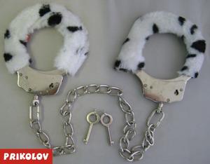 Наручники НА РУКИ-НОГИ ц=панда