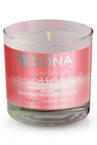 JO40556 Массажная свеча DONA Scented Massage Candle Flirty Aroma: Blushing Berry