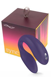 We-Vibe Sync Purple-Фиолетовый, на радиоуправлении